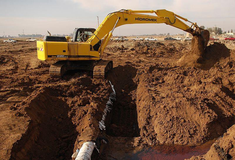 Conheça a escavadeira hidráulica
