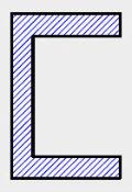 Seção Transversal em C