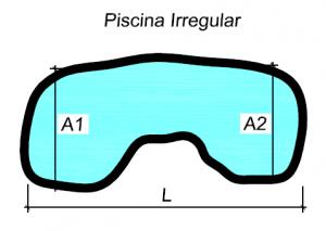 Como calcular o volume de gua de uma piscina for Calcular metros cubicos piscina redonda